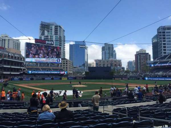 PETCO Park, section: 101, row: 18, seat: 17