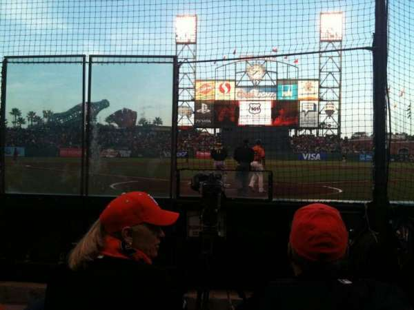 AT&T Park, section: 115, row: 3, seat: 3