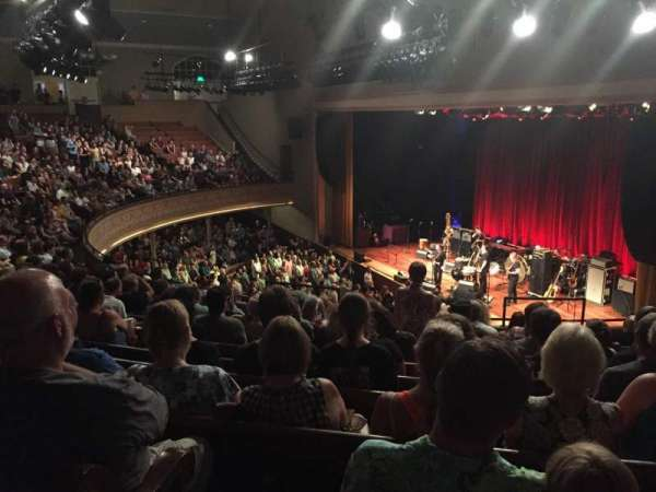 Ryman Auditorium, section: 10, row: L, seat: 8