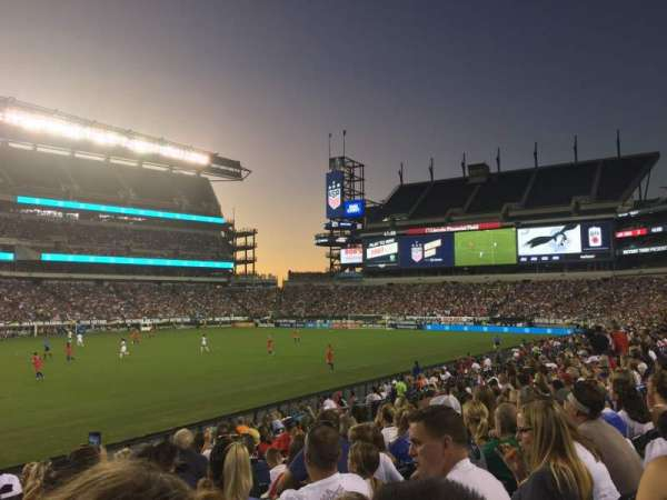 Lincoln Financial Field, section: 117, row: 10, seat: 30
