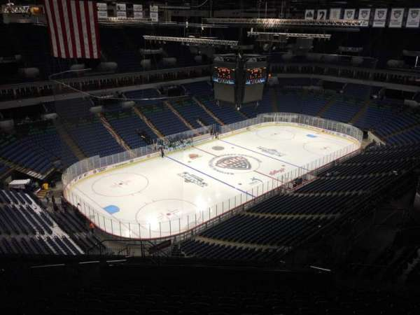 Target Center, section: 216, row: V, seat: 16