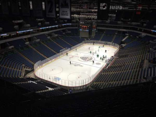 Target Center, section: 238, row: W, seat: 14