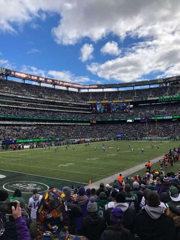 MetLife Stadium, section: 146, row: 11, seat: 7