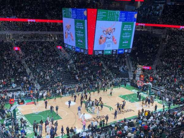Fiserv Forum, section: 224, row: 4, seat: 11