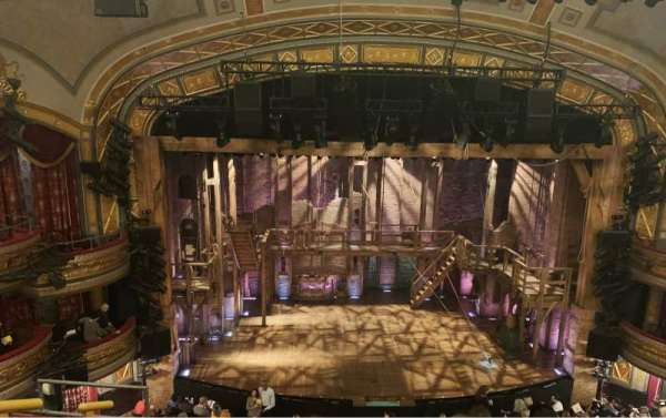 Richard Rodgers Theatre, section: Front Mezzanine C, row: E, seat: 112