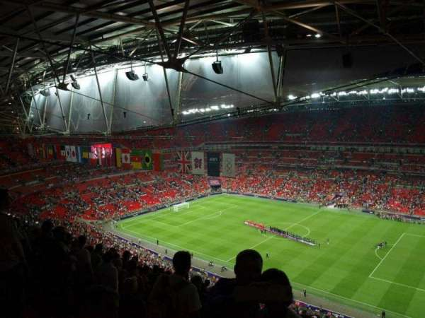 Wembley Stadium, section: 523, row: 33, seat: 275