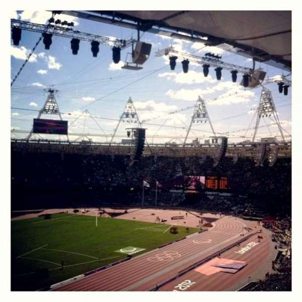 London Stadium, section: 202, row: 66, seat: 634