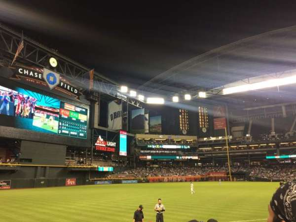 Chase Field, section: 133, row: 13, seat: 11