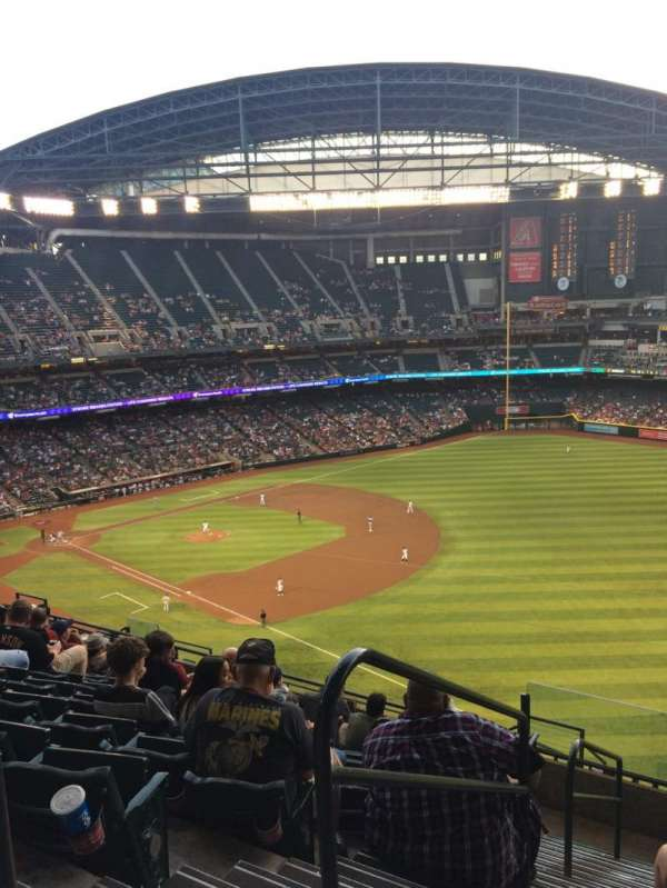 Chase Field, section: 304, row: 15, seat: 13