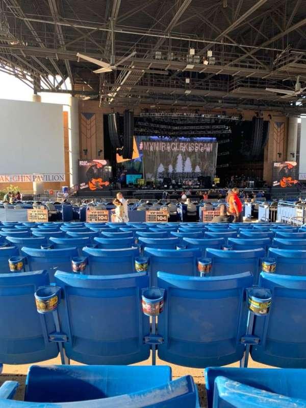 Ak-Chin Pavilion, section: 204, row: KK, seat: 11