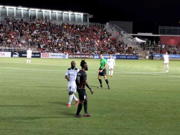 Toyota Field, section: 109, row: 4, seat: 1