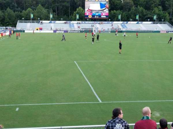 WakeMed Soccer Park, section: 402, row: H, seat: 10