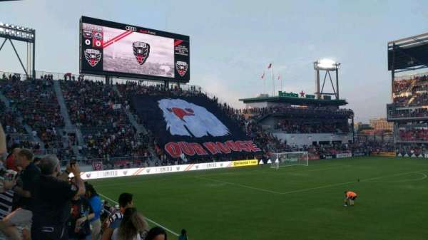 Audi Field, section: 128, row: 6, seat: 10