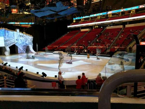 PNC Arena, section: 130, row: k, seat: 1