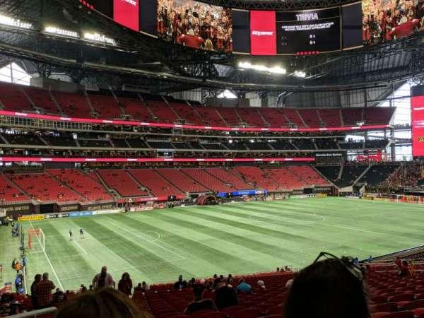Mercedes-Benz Stadium, section: 114, row: 38, seat: 24