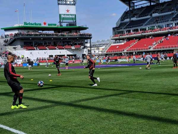 Audi Field, section: F13, row: 1, seat: 14