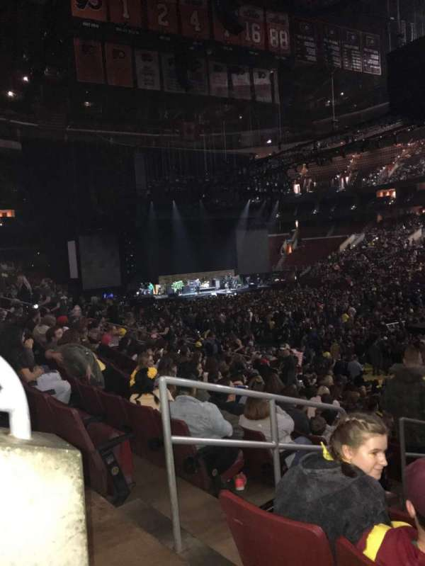 Wells Fargo Center, section: 104, row: 19, seat: 1