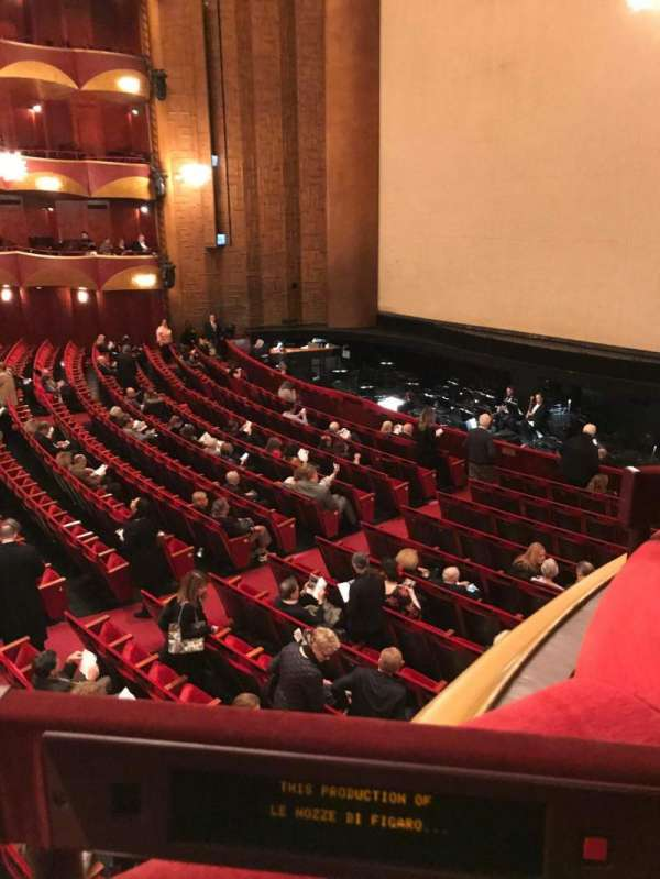 Metropolitan Opera House - Lincoln Center, section: Parterre, row: Box 10, seat: 3