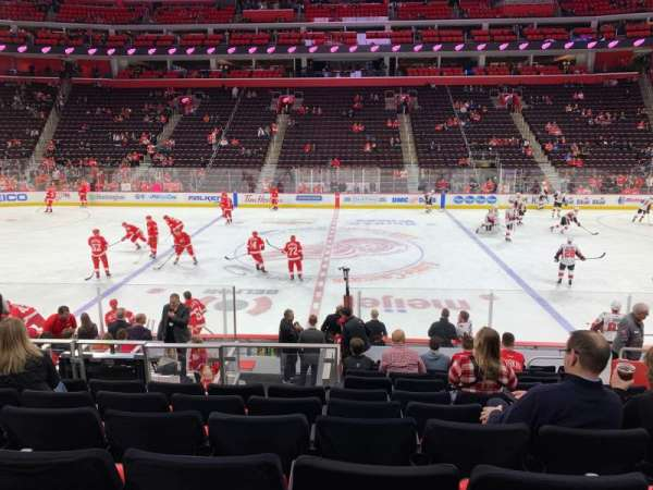 Little Caesars Arena, section: 122, row: 14, seat: 8