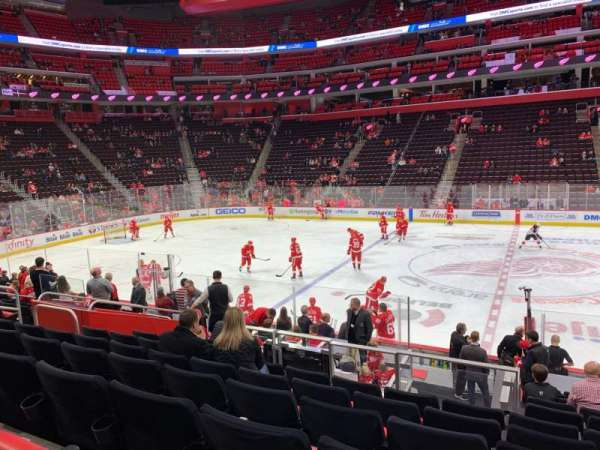 Little Caesars Arena, section: 122, row: 13, seat: 8