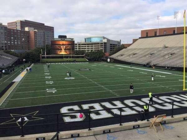 Vanderbilt Stadium, section: J, row: 8, seat: 1