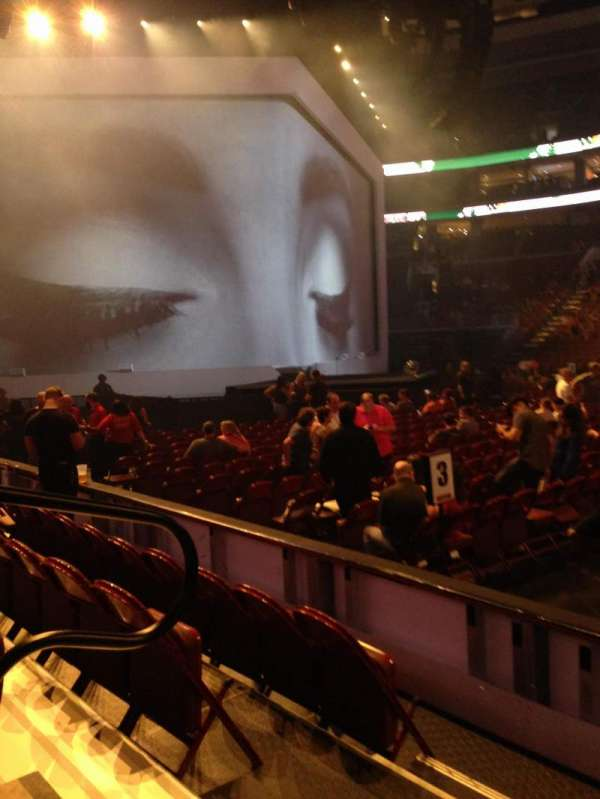 Wells Fargo Center, section: 101, row: 4, seat: 3
