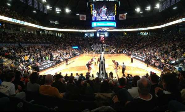 McCamish Pavilion, section: 105, row: 11, seat: 15
