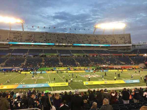 Camping World Stadium, section: 135, row: U, seat: 26