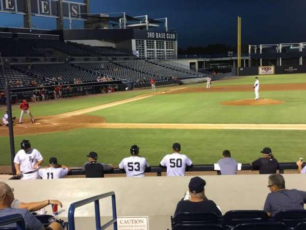 George M. Steinbrenner Field, section: 106, row: Jj, seat: 20