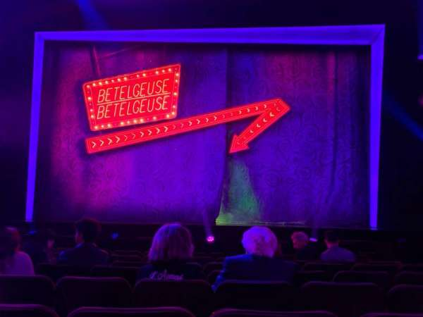 Winter Garden Theatre, section: ORCC, row: H, seat: 105 And 106