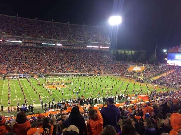 Memorial Stadium, Clemson, section: UG, row: F, seat: 15,17