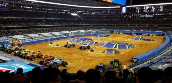 AT&T Stadium, section: 243, row: 10, seat: 18