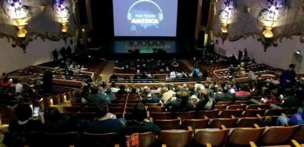Crest Theatre, section: UpprBalC, row: RR, seat: 111