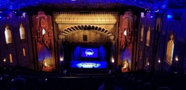 Fox Theatre Oakland, section: UpperBalc, row: BB, seat: 126