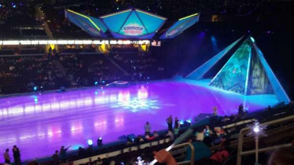 Quicken Loans Arena, section: c107, row: 20, seat: 13