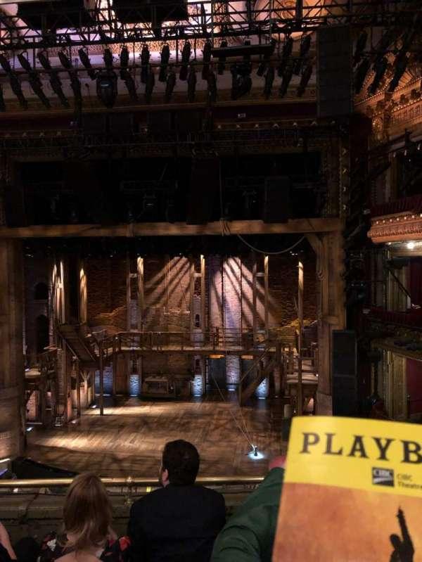 CIBC Theatre, section: Mezz RC, row: D, seat: 314