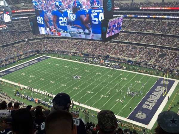 AT&T Stadium, section: 407, row: 23, seat: 10