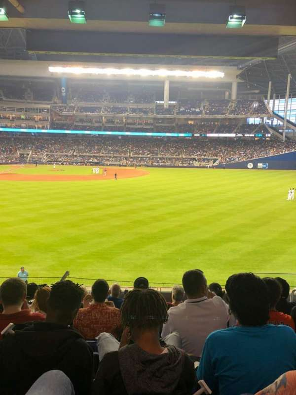 Marlins Park, section: 39, row: 7, seat: 4