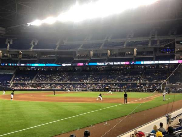 Marlins Park, section: 26, row: G, seat: 2