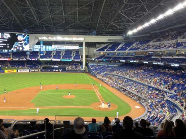 Marlins Park, section: 219, row: 9, seat: 17