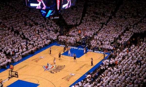 Chesapeake Energy Arena, section: 328, row: Q