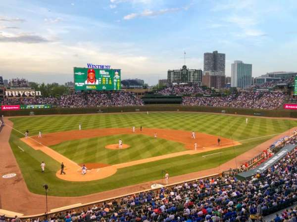 Wrigley Field, section: Suite 40, row: 1, seat: 1