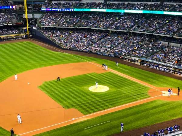 Miller Park, section: 432, row: 5, seat: 2