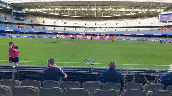 Marvel Stadium, section: Aisle 12, row: E, seat: 10