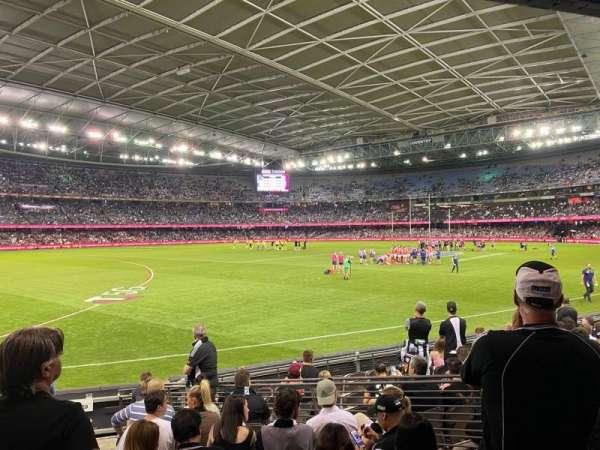 Marvel Stadium, section: Aisle 18, row: L, seat: 45