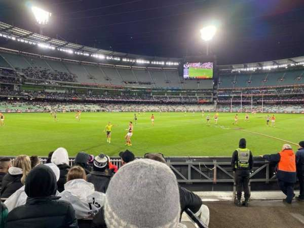 Melbourne Cricket Ground, section: M28, row: J, seat: 12