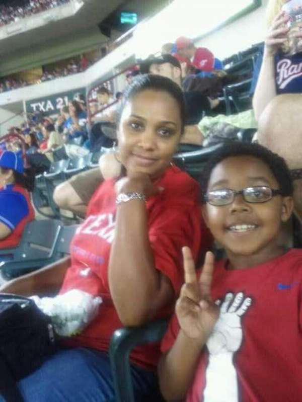 Globe Life Park in Arlington, section: 204, row: 5, seat: 10,11,12