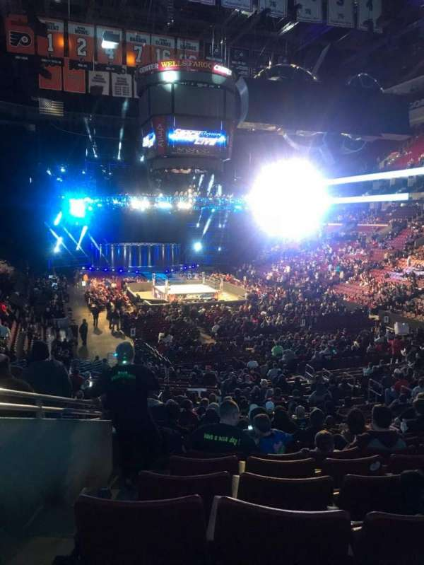 Wells Fargo Center, section: 106, row: 24, seat: 1,2
