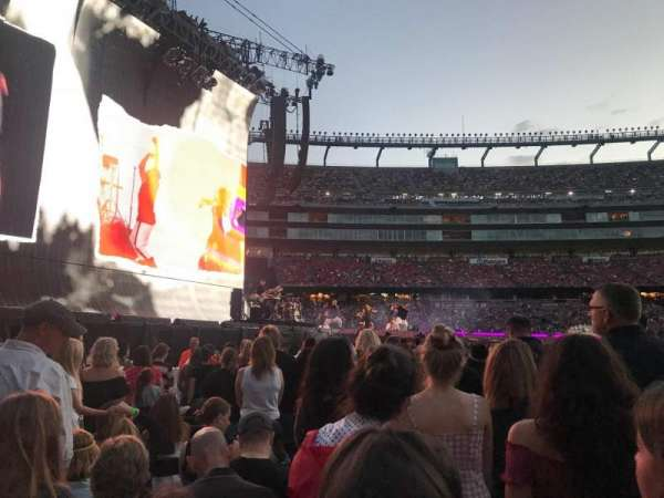 Gillette Stadium, section: A9, row: 12, seat: 15