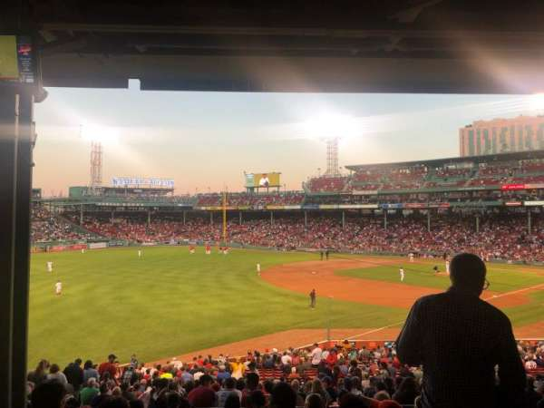 Fenway Park, section: Grandstand 31, row: 10, seat: 19